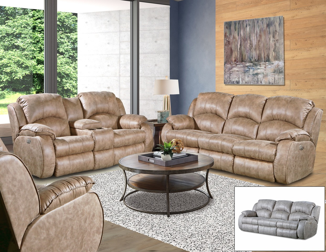 Cagney Sofa or Loveseat Image