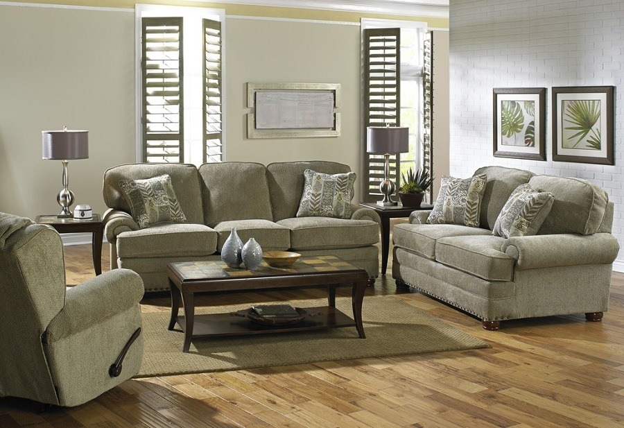 Braddock Sofa and Love Seat Image