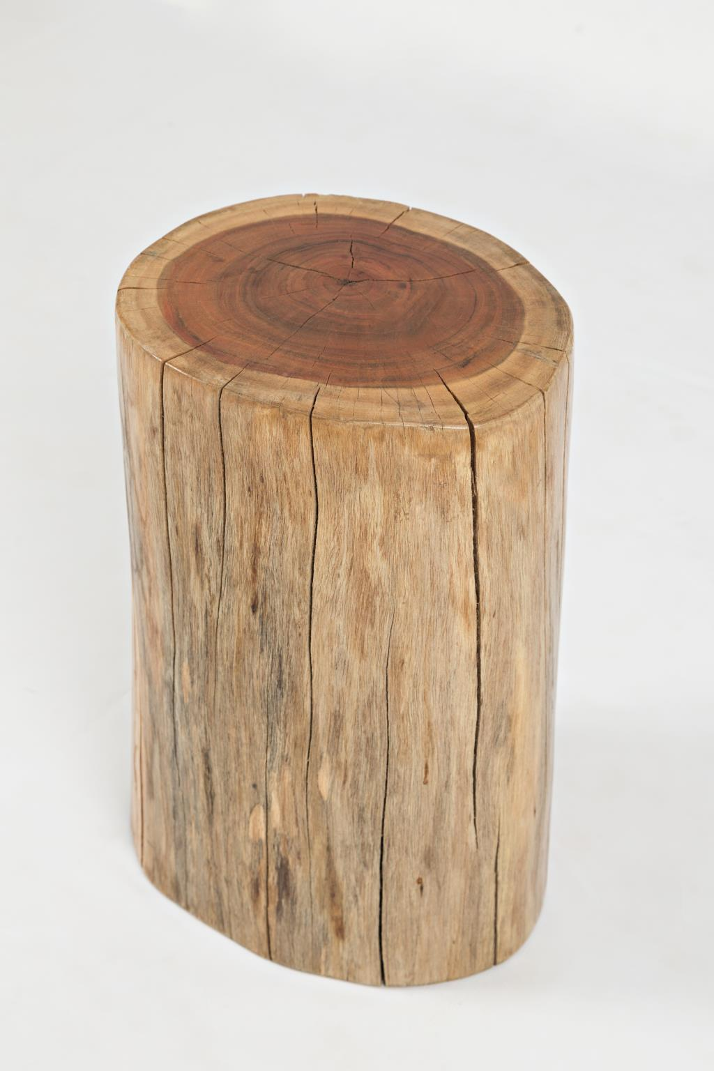Hardwood Stump Accent Table Image